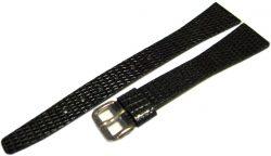 15 mm Leder Damen Uhrenarmband Uhrenband Armband grau watch strap leather gray