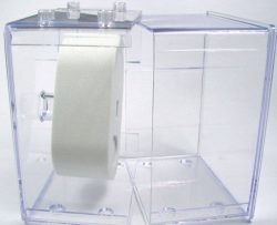 20 Stück HEKTOR Uhren Sammel Box Kunststoff klar stapelbar ohne Uhr
