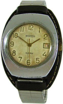 Boctok Vostok Wostok russische Herrenuhr USSR Handaufzug russian watch 18 Jewels
