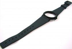 Fortis plastic Uhrenarmband Uhrenband für Containeruhr grau watch strap grey