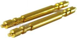 HEKTOR hochwertige Federstege vergoldet für 20mm Bandanstoß