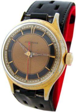 Junghans Germany Handaufzug Herrenuhr vintage mechanic hand winding mens watch