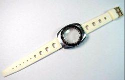 Tropic Sport Kunststoff skindiver Uhrband weiß Dornschließe Anstoß 18mm-1