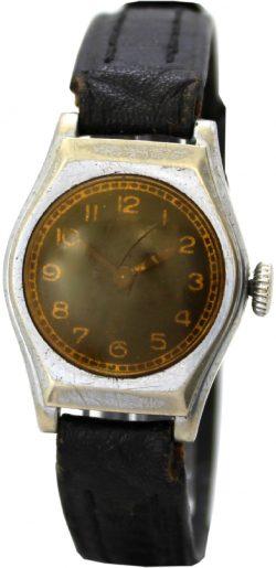 unsignierte mechanische Handaufzug Herrenuhr mechanical mens watch Uhr um 1930