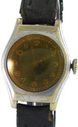 unsignierte mechanische Handaufzug Herrenuhr mechanical mens watch Uhr um 1930