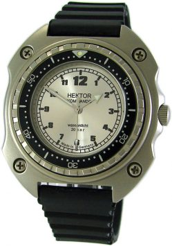 HEKTOR KOMMANDO Germany Taucher Herrenuhr design vintage diver mens watch 20ATM