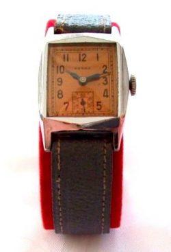 Herma mechanische Handaufzug Herrenuhr vintage art deco mens watch Sammleruhr