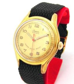 Imperia Herrenuhr vergoldet Handaufzug vintage hand winding mens watch 17 Rubis