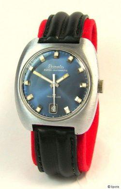 Primato Super Automatic 25 Datum mechanische Uhr mechanically men gents watch