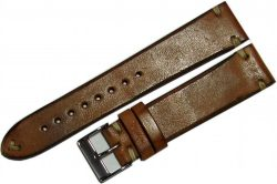 Uhrenarmband Pferd Uhrenband braun watch strap vintage horse leather brown 20mm