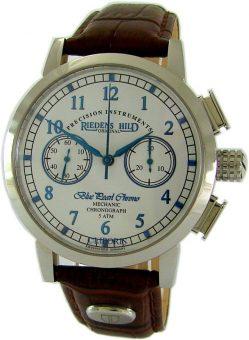 Riedenschild Germany Herrenuhr Handaufzug Schaltradchronograph Lederband braun