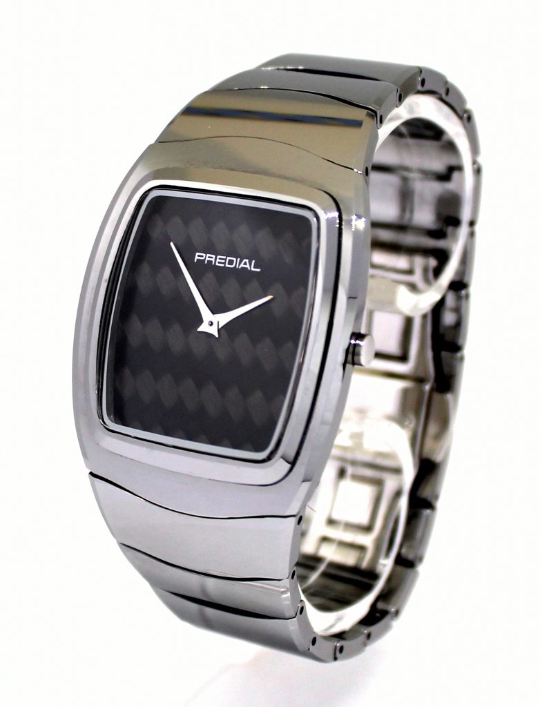 PREDIAL dress watch wolframcarbit carbon saphirglas