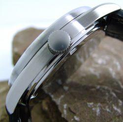Garde Ruhla Unisex Quarz Uhr Analog leicht ablesbar Senioren Sehbehinderte weiß