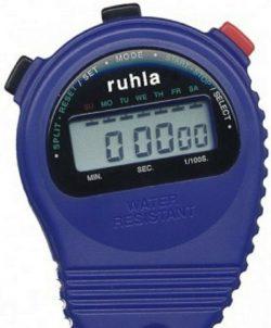 Garde ruhla digitale LCD - Stoppuhr S001-2 blau mit Kordel