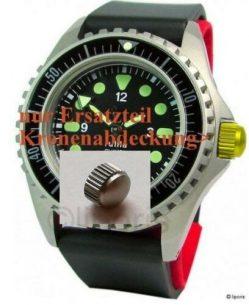 original Ersatzteil für Garde RUHLA NVA Kampfschwimmer Uhr 2010 Kronenabdeckung