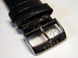 original Garde RUHLA Herren Uhrenarmband Leder schwarz Anstoß 20mm