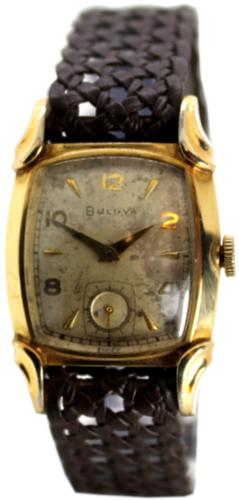 Bulova Handaufzug mechanische Uhr mit kleiner Sekunde