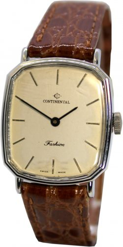 Continental Fashion swiss made one 1 Jewel Handaufzug Armbanduhr
