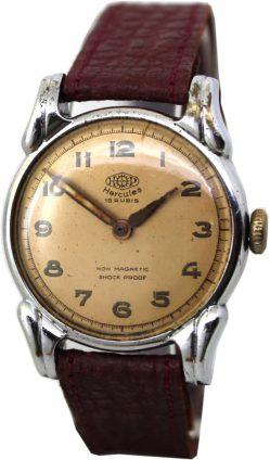 Hercules Herrenuhr 16 Steine handaufzug Uhr