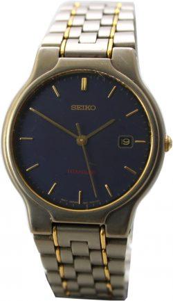 Seiko Titan Herren Uhr mit Datum