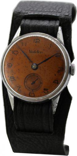 Valdor Handaufzug Herrenuhr kleine Sekunde mechanische Uhr