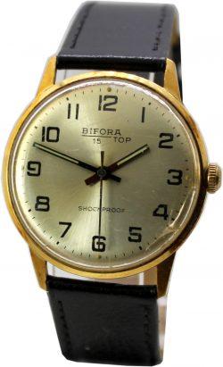 Bifora 15 Top Herrenuhr mechanisch Handaufzug Uhr