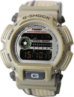 Casio G Shock Herren Armbanduhr Alarm Tageasanzeige 200 m Sportuhr 2039 LCD Quarz DW 9005