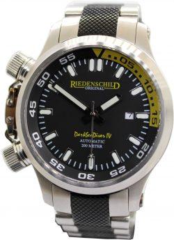Riedenschild Dark sea diver IV 1151 Automatic Herren Taucher Sport Uhr 200m