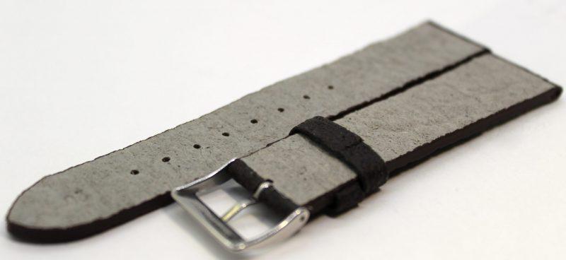 Uhrenarmband aus Ananas - Blattfasern vegan dunkelbraun 18mm,20mm und 22mm lieferbar