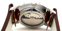 HEKTOR Herren Clip Uhrenarmband Leder braun vintage Design 18mm 20mm 22mm und 24mm lieferbar