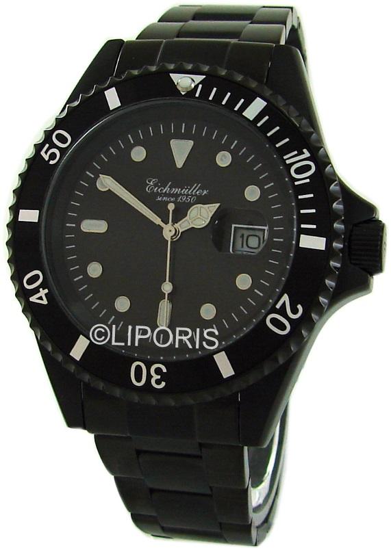 Eichmüller-3411-02-Edelstahl-Herrenuhr-mit-Datum-Liporis-watch-Uhr