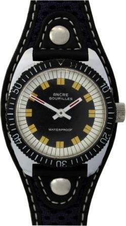 Ancre Goupilles kleine Handaufzug Uhr mit Drehlünette 31mm