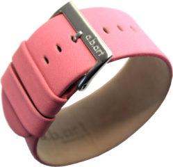 a.b.art Damen Lederarmband für Z Uhren rosa 30mm